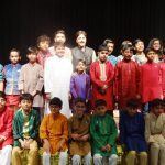 Tabla Students with Guru Pt. Shantilal Shah